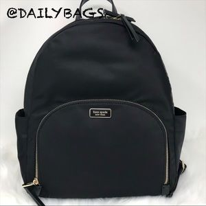 KATE SPADE LARGE DAWN BACKPACK NYLON NEW BIG